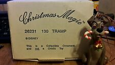 Disney grolier christmas ornament tramp