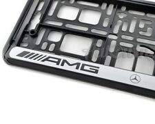 Mercedes-Benz AMG Frames Euro Standart License Plates NEW 1pcs.