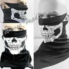 Snowboard Motorcycle Half Face Bandana Scarf Mouth Mask Protector Ghost Skull