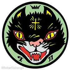 Cult Cat STICKER Decal Kozik Poster Artist KZ20