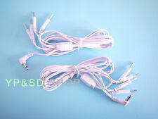 2x Elektrodenkabel Kabel 3.5mm Stecker 4in1 für TENS EMS Geräte Reizstromgeräte