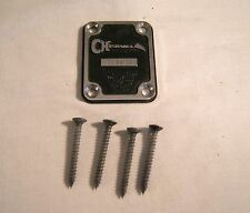 "Charvel Model 2 ""Fort Worth"" Neck Plate with Screws"