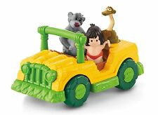 NEW FISHER PRICE LITTLE PEOPLE DISNEY PRINCESS THE JUNGLE BOOK TIKI TRUCK