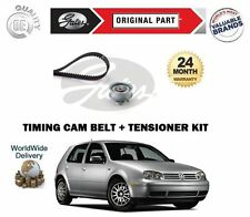 FOR VOLKSWAGEN VW GOLF 1.6 8v MK4 1997-2006 GATES TIMING CAM BELT TENSIONER KIT