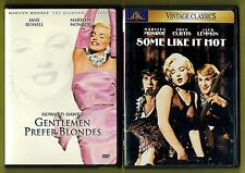 Marilyn Monroe - 2 DVDs - Gentlemen Prefer Blondes / Some Like It Hot