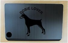 Doberman lover decal in 11 colors