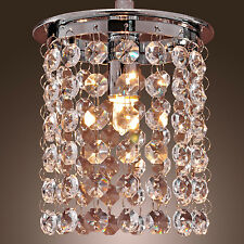 Modern Crystal Ceiling Lighting Chandelier Light Lamp Pendant Fixture Clear
