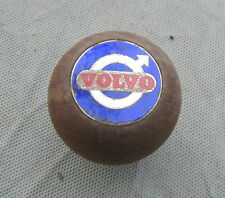 1968 Volvo 1800S Shift Boot Knob Wood Shifter Amco (?) P1800 1800