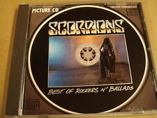 PICTURE CD / SCORPIONS - BEST OF ROCKERS N' BALLADS