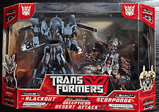 2007 Hasbro Transformers Movie Blackout Scorponok Decepticon Desert Attack NY
