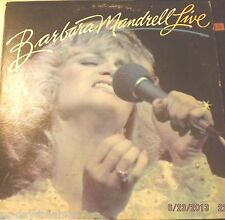 """BARBARA MANDRELL - LIVE (1981 MCA) """"Sleeping Single In A Double Bed"""",""""Years"""""""
