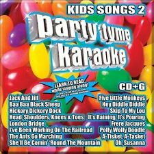 PARTY TYME KARAOKE-KIDS SONGS 2 CD NEW