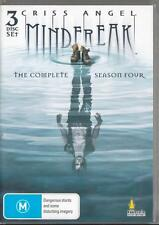 CRISS ANGEL MINDFREAK SEASON 4 -  NEW & SEALED R4 DVD 3 DISCS FREE LOCAL POST