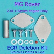 EGR plaque d'obturation permettant Kit MG ZR ZS ROVER 220 420 25 45 FREELANDER Streetwise HONDA
