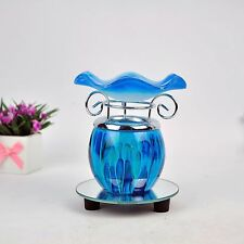 Electric Scented Oil Warmer Lamp Wax Tart Burner Bulb Fragrance Diffuser Blue