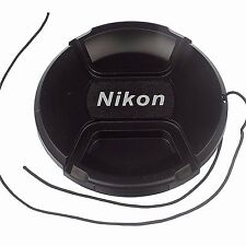 New 82 mm 82mm Snap-On Lens Cap for Camera Nikon Lens filters LC82