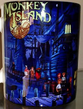 Monkey Island Tribute Guybrush + SCUMM BAR MUG Unique - Design 2