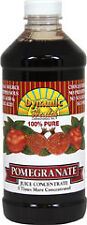 Dynamic Health Pomegranate 100% Pure Juice Concentrate 473ml