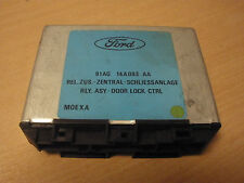 Door lock control relay module - Ford Escort Orion 90-95 91AG14A093AA 618541