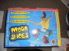 Big Time Toys Moon Shoes purple/fuchsia  Anti-gravity , complete