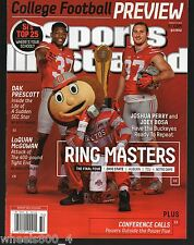 Sports Illustrated 2015 Ohio State Joshua Perry Joey Bosa Newsstand Issue NRM