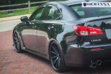 20x9 20x10 +40 Rohana RC10 5x114 Black Wheel Fit Lexus IS-F 2008 5x4.5 Staggered