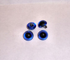 PREMIUM BLUE GLASS EYES 15 MM CURL WIRE 3 PAIR