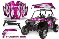 POLARIS RZR 900 XP 900XP & PRO ARMOR DOOR GRAPHICS KIT CREATORX ROCKIN 80s P