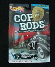 Hot Wheels 1:64 6+ Cop Rods Boys 1999 Police Cruisers Super Comp Dragster