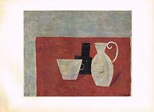 1940's Old Vintage Andre Derain Nature Morte Still Life Offset Litho Art Print