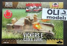 1/72 WWII Vickers E Polish Light Tank w/Twin Turret - First to Fight 028