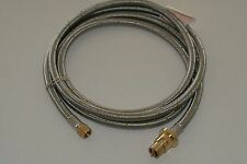 Stainless Steel gas hose for Joolca Hot Water 1.5m to Caravan gas bayonet,
