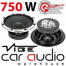 Vibe BlackDeath Pro 10 Inch 750 Watt Midbass Component Car Subwoofer Speaker