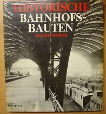 Historische Bahnhofsbauten Band 1 Bahnhöfe Deutschland Stecken Gebäude Buch