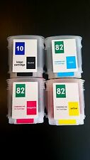 Refillable ink cartridge 82 & 10 for HP Designjet 100 500ps 800 120ps 50 815