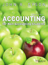 Accounting for Non-Accounting Students by J.R. Dyson (Paperback, 2007)