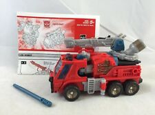 Transformers Energon INFERNO Complete Deluxe Class Hasbro FIRE TRUCK