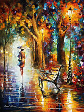 """The End of Patience  —  Oil Painting On Canvas By Leonid Afremov. Size: 30""""x40"""""""