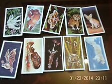 brooke bond tea cards wonders of wildlife x 10