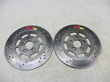 1996 Harley FLHT Electra Glide S717. front brake rotors discs left right