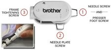 Genuine Brother SAMDRIVER1 Multi-Purpose Screwdriver For Foot,Hoop,Needle& Plate
