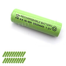20x AA 3000mAH NiMH Rechargeable Battery Solar Light