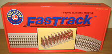 LIONEL 6-12038 FASTRACK ELEVATED TRESTLE SET O GAUGE TOY TRAIN LAYOUT FAST TRACK