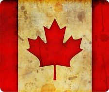 Canada Canadian Grunge Flag Thick Mouse Pad