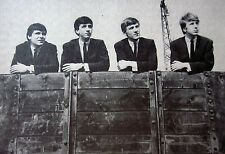 THE MERSEYBEATS clipping Liverpool rock B&W photo Billy Kinsley band 1960s UK