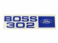 Mustang Valve Cover Decal Boss 302 Sold Each1969 - 1970 - Osborn Reproductions