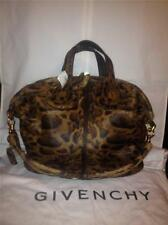 Givenchy NIGHTINGALE Medium Animal Pony Calf Hair Tote Shopper Bag Satchel $3400