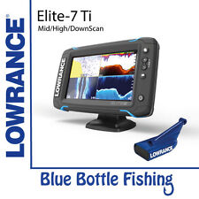NEW Lowrance Elite-7 Ti Mid/High/DownScan from Blue Bottle Fishing