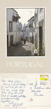 1993 TYPICAL SIDE STREET ALGARVE PORTUGAL COLOUR POSTCARD