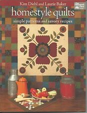 Quilt Book ~ Homestyle Quilts ~ Kim Diehl & Laurie Baker ~ New